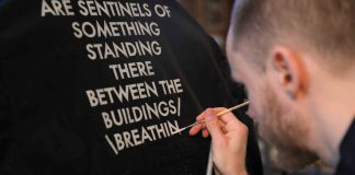 fashion week: tendenze lettering