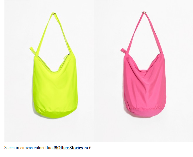 borsa da spiaggia &OtherStories