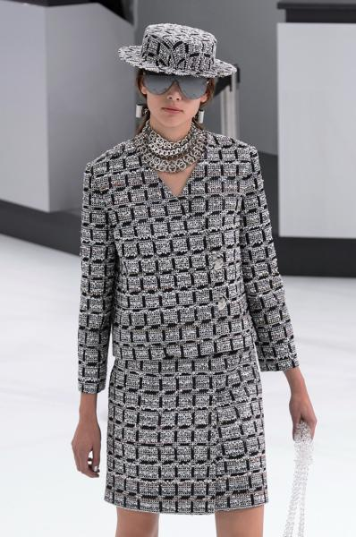 tweed chanel lorella chinaglia